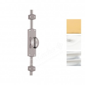 Espagnolette Bolt with Oval Knob Set - Various Finishes