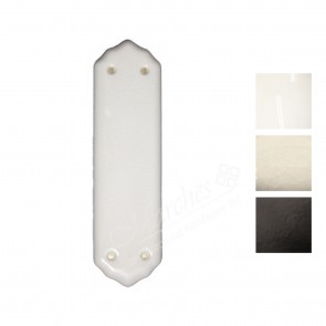 Porcelain Finger Plates - Various Finishes