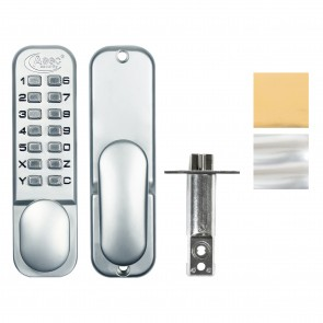 Digital Lock With Hold Back - Various Finishes