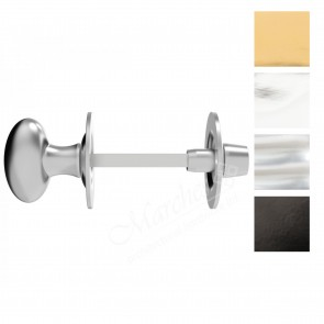 Oval Bathroom Thumbturn - Various Finishes