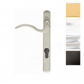 Scroll Euro Espag Handles (92mm Centres) Left Handed - Various Finishes