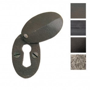 Oval Escutcheon and Cover - Various Finishes