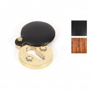 Round Escutcheon with Cover - Various Finishes