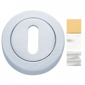 Standard Profile Escutcheons (Concealed Fix) - Various Finishes