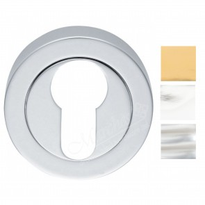 Euro Profile Escutcheon (Concealed Fix) - Various Finishes