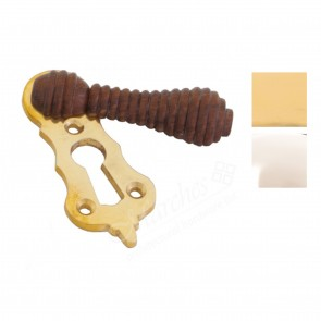 Rosewood Beehive Escutcheon - Various Finishes