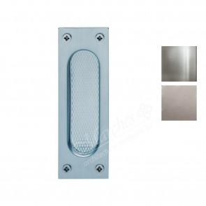 Flush Pull Handle (Grade 304 Steel) 120 x 40 mm - Various Finishes