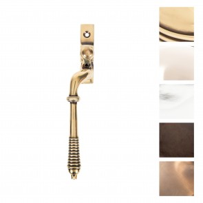 Reeded Left Hand Espag Handles - Various Finishes