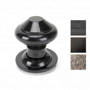 Regency Centre Door Knob - Various Finishes