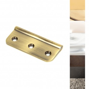 75mm Dummy Butt Hinge (Singles) - Various Finishes