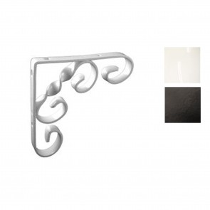Scroll Shelf Bracket - Various Finishes