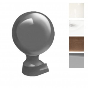 Exitex - Aluminium 80mm Ball Slide in Finial - Various Finishes
