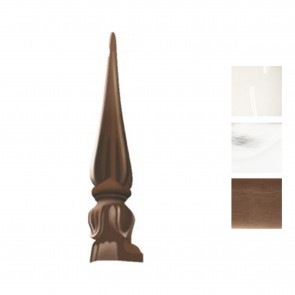 Exitex - Aluminium Tulip Slide in Finial - Various Finishes