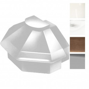Exitex - Aluminium MK4 Radius End Cap - Various Finishes