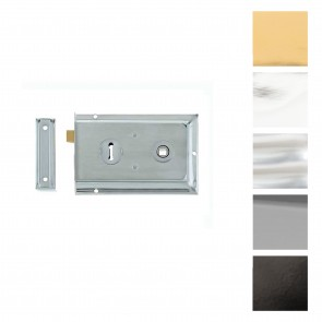 Lipped Rim Lock - Various Finishes