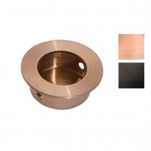 65mm Round Flush Pull Handle - Various Finishes
