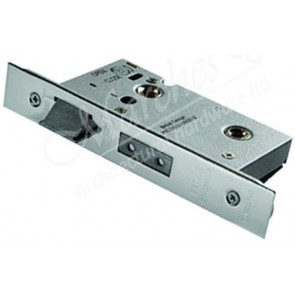 Heavy Duty Bathroom Mortice Lock - SSS (Various Sizes)