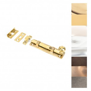 """4"""" Universal Bolt - Various Finishes"""