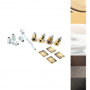 Secure Stops (Pack of 4) - Various Finishes