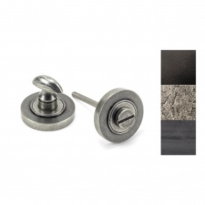 Round Thumbturn Set (Plain) - Various Finishes