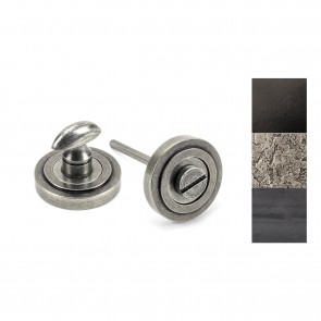 Round Thumbturn Set (Art Deco) - Various Finishes