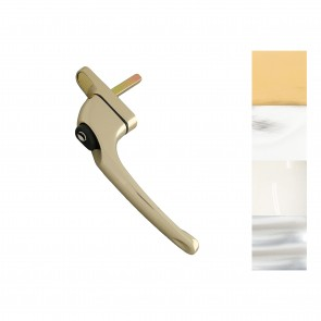 Window Espagnolette In-Line Handle - Various Finishes