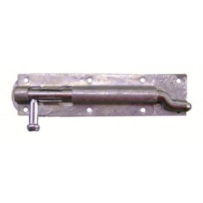 Cranked Door Bolt - Galvanised - Various Sizes
