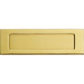 Letter Plate - Polished Brass