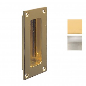 Flush Pull Handle 102 x 51 mm - Various Finishes