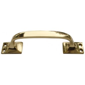 Pull Handle - Polished Brass