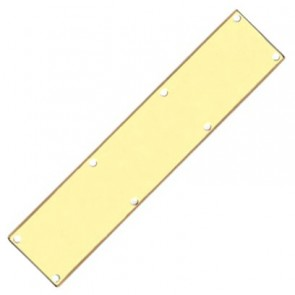 Kickplate - Polished Brass