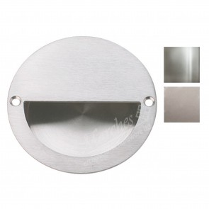 Flush pull handle 90mm diameter - Various Finishes
