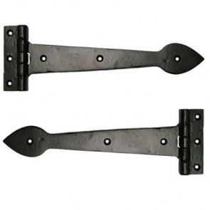 Smooth Cast T Hinge - Black