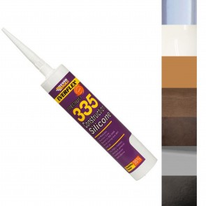 Everbuild 335 Low Modulus Silicone - Various Colours