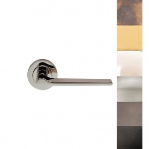 Velino Lever on Rose Handles - Various Finishes
