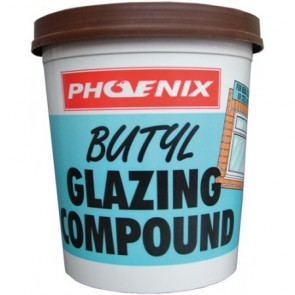 Butyl Glazing Compound - Various Colours