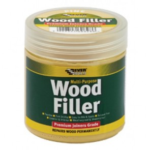 Everbuild Premium Wood Filler 250ml - Various Colours