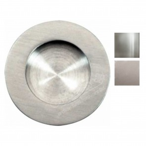 Flush pull handle, ø 65 mm - Various Finishes
