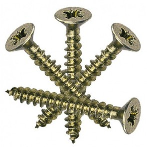 6mm (Gauge 12) Passivated Countersunk Screws (length 40-150mm)