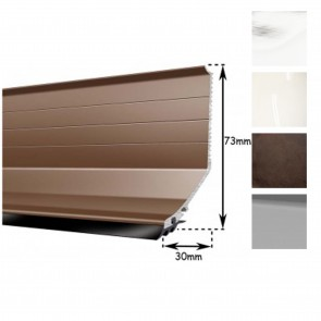 Exitex - Capex Lean to Flashing Profile - Various Finishes