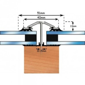 Exitex - Capex 40 Rafter Bar + Rag 45 Aluminium - Various Lengths