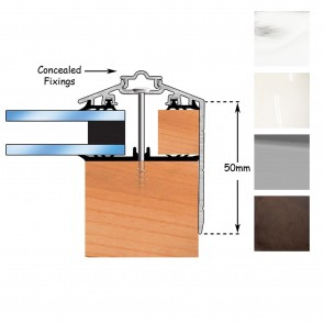 Exitex - Capex 50 Gable End Profile + Rag 45 - Various Lengths & Finishes
