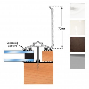 Exitex - Capex 50 Wall Finishing Profile + Rag 45 - Various Lengths & Finishes