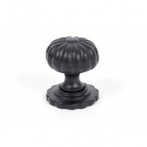 Cabinet Knob (with base) - Black