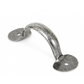 Bean D Handle - Pewter