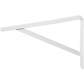 Fixed Bracket for Shelves Large - White
