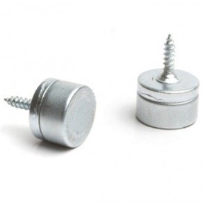 Elite Magnetic Catch 4kg Pull (Pack 5) - Nickel