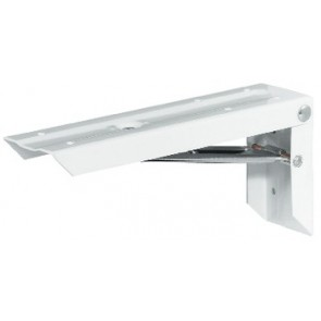 Folding Bracket with locking device - Various sizes - White
