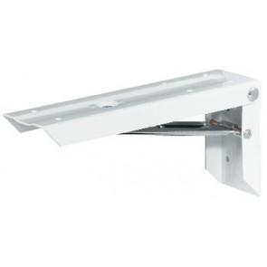 Folding Bracket with locking device - Various sizes - White
