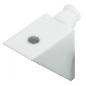 Shelf Support - Plastic White (100)